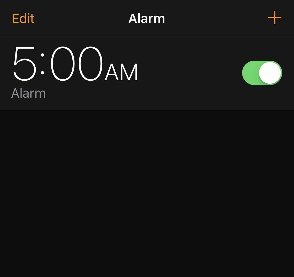 5am challenge