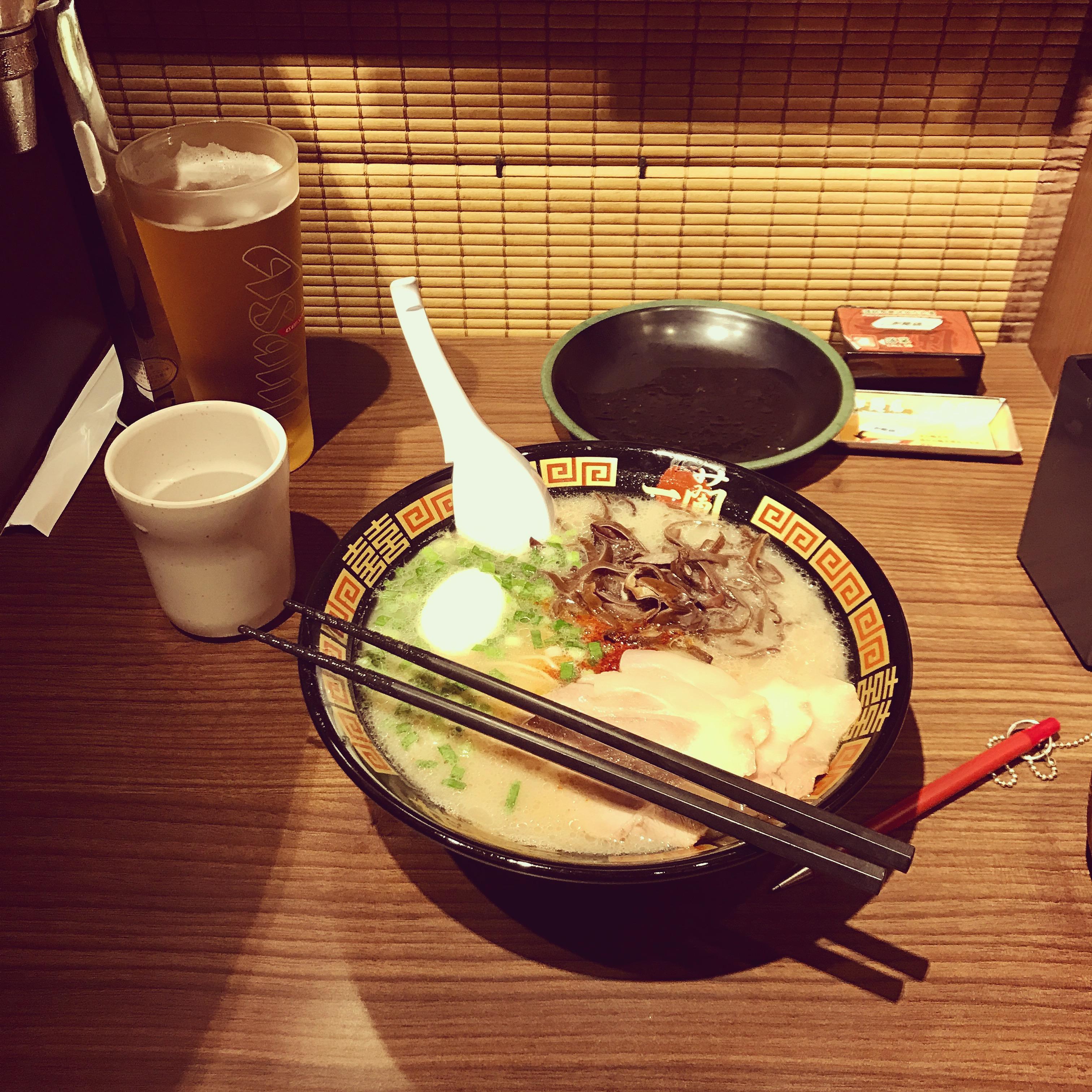 ramen ichicran japan